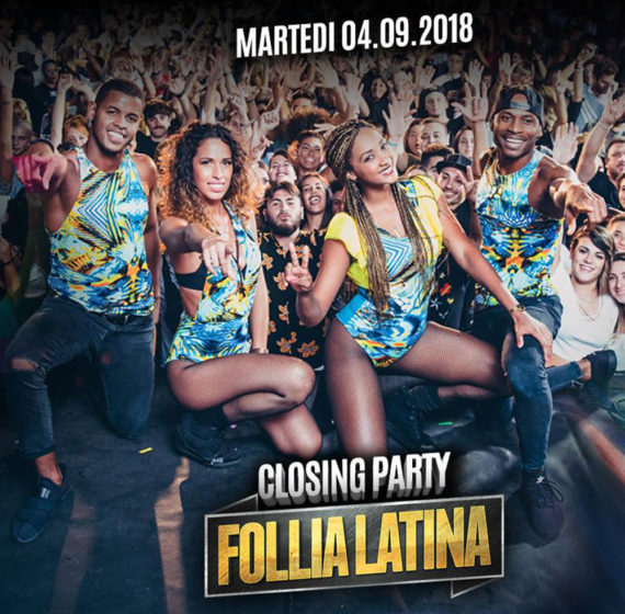 Follia Latina Closing Party Love Park