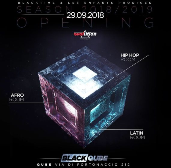 Black Qube Inaugurazione 29.09.18 Evolution