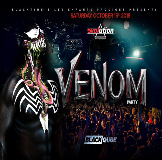 Black Qube Venom Party 3