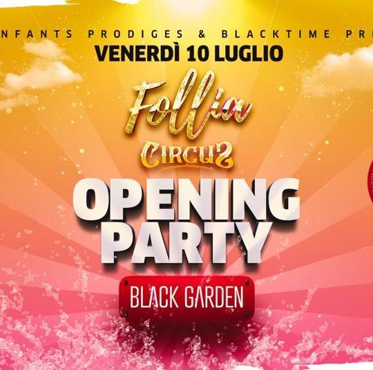 Follia Latina Circus - Black Garden Edition
